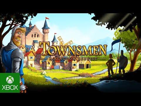 Townsmen - A Kingdom Rebuilt // Launch Trailer