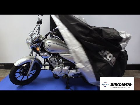 Sådan klargør du motorcyklen til vinteropbevaring