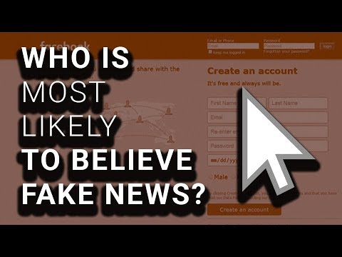 STUDY: Right Wingers Way More Likely to Believe & Share Fake News