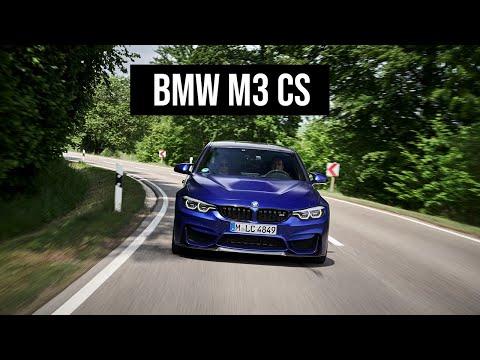BMW M3 CS (F80) filmed with INSTA360 Action Camera