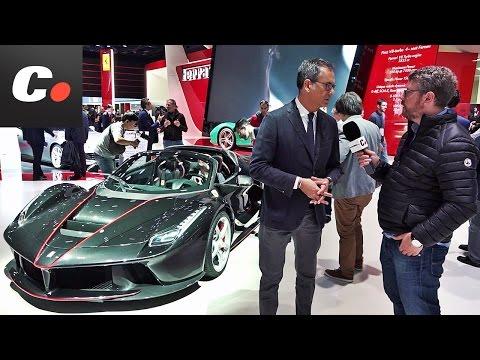 Ferrari 70 Aniversario / LaFerrari Aperta | Salón París 2016 | Mondial de l'Automobile | coches.net
