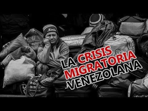La crisis migratoria venezolana