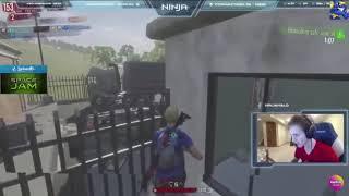 Ninja rages at kid h1z1 (funny clip)