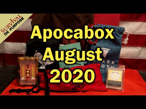 Apocabox August 2020 Unboxing - The Outdoor Skills Mystery Box