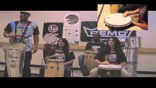 Slap Sound Class. Conga - Timbau - Djembe Class