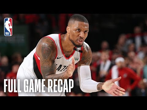 THUNDER vs TRAIL BLAZERS | Damian Lillard & C. J. McCollum Combine For 62 Points | Game 2