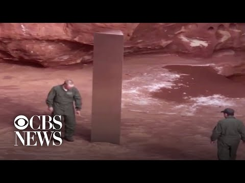 Mysterious Monolith Found In Utah Desert News Lookout