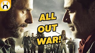 All Out War BEGINS and ENDS in Season 8 | The Walking Dead