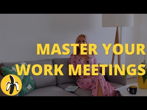 Master Your Work Meetings with These 5 Tips!