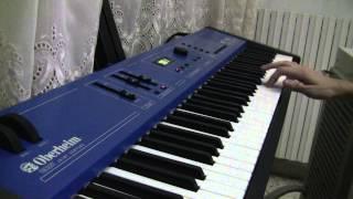 Rammstein - Mein Herz Brennt Live version some sounds on keyboard (Oberheim MC 1000)