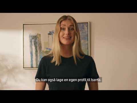Slik oppretter du profiler i nye T-We | Telenor Norge