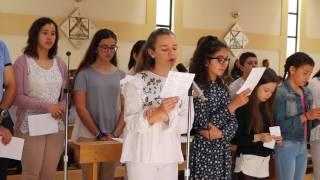 """2017 - """"O Senhor é meu Pastor (T. Morais)"""" - Coro Juvenil de São Pedro do Mar, Quarteira"""