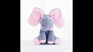 Peek A Boo Elephant Toy - How to operate : MP TubeCast