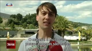 Entrevista TV Portuguesa SIC Noticias (10/04/2017) - carreras de drones