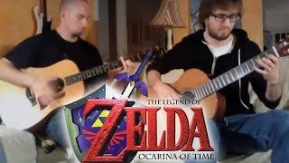 Zelda Ocarina of Time - Gerudo Valley - Super Guitar Bros