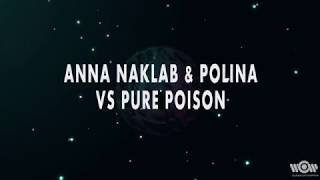 Anna Naklab & Polina vs Pure Poison - Alright | Official Lyric Video