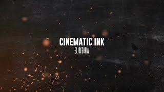 After Effects Template  - Cinematic Ink Slideshow