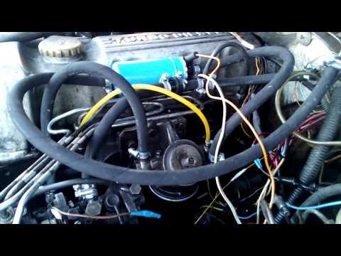 Замена топливных трубок на Opel Frontera.