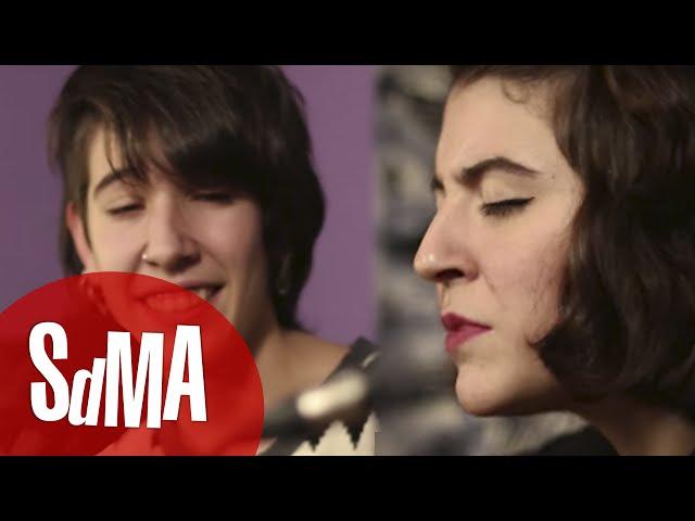 Video en acústico de La Otra - Como la pólvora junto a Eva Sierra para acústicos SdMA