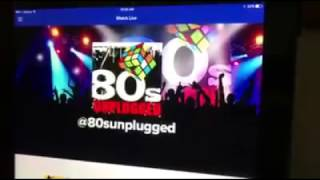 80's Unplugged Live via Skype on WGN Chicago Morning Show!!