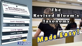 Bloom's Taxonomy - Bloom's Taxonomy Chart - Questions