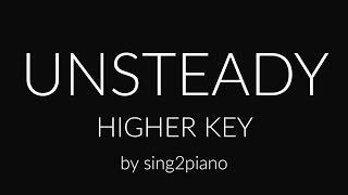 Unsteady (Higher Piano karaoke demo) X Ambassadors