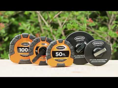 Keson 3x1 Steel Tape Measure - 100ft., Model# ST181003X