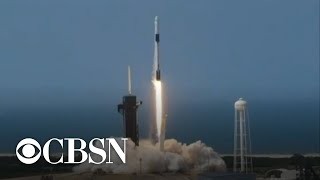 SpaceX and NASA successfully launch two astronauts into space