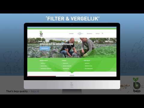 Bejo | Filter & Vergelijk feature | website bejo.nl