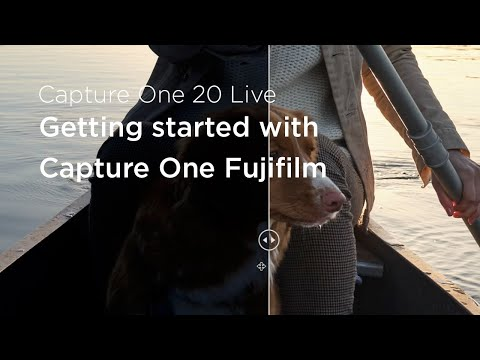 Capture One 20 | Live : Getting started with Capture One Fujifilm