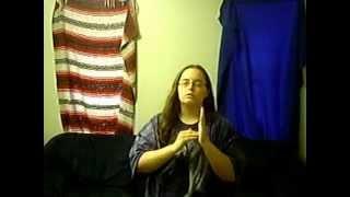 I Will Always Return in ASL