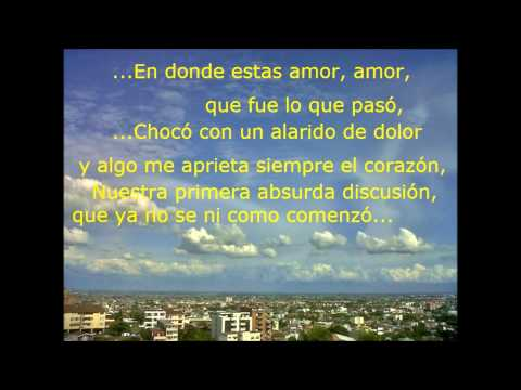 Por Si Piensas Regresar de Adalberto Santiago Letra y Video