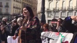 Esmeralda Grao - Ser libre al fin  (concierto  Puerta del Sol Madrid 2017)