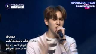 [Thaisub/Karaoke] Pentagon Maker 1st Live Performance  - Sorry By Team Kino