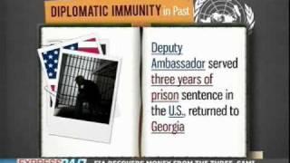 Diplomatic immunity 101