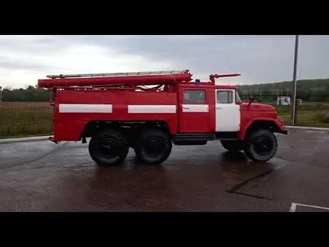 Передача пожарной автоцистерны в Аскинский район