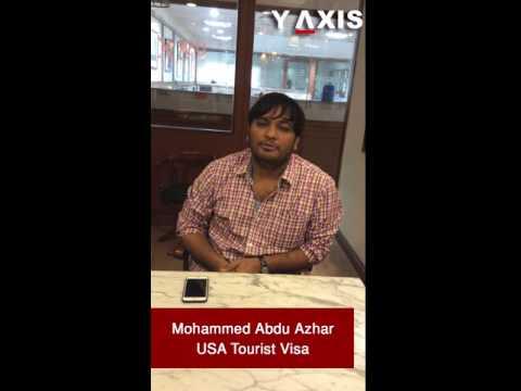 Mohammed Abdu Azhar USA Tourist Visa PC Haritha Asha