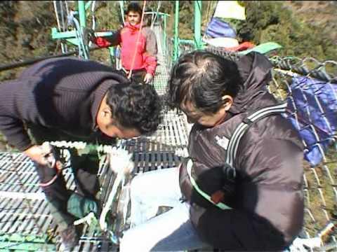 BUNGY JUMP @ THE LAST RESORT NEPAL