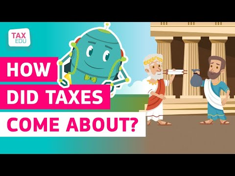 How did taxes come about? photo