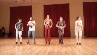 Afrohouse show at Mambo Dance Class 8th Anniversary