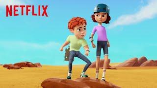 The Golden Brain | Spy Kids: Mission Critical | Netflix