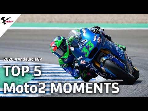 Top 5 Moto2 moments from the #AndaluciaGP