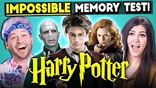 The Impossible Harry Potter Memory Test | Too Much Information