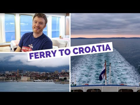 Italy to Croatia Ferry from Ancona to Split