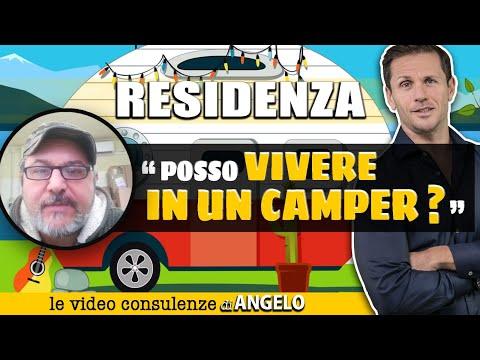 VIVERE IN CAMPER: residenza senza fissa dimora | Avv. Angelo Greco
