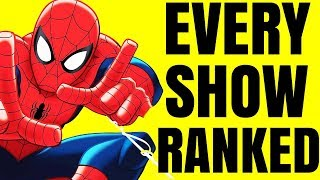 Worst to Best - Every Spider-Man Cartoon Ranked