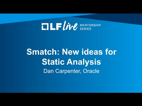 Mentorship Session: New Ideas for Smatch (Static Analysis)