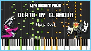 Undertale - Death by Glamour [SYNTHESIA] | Frank & Zach Piano Duets