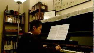Xiaozhou Xu Plays Dragon Fly by William L. Gillock