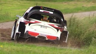 WRC 2017: ADAC Rallye Deutschland 2017 – Pure Sounds, Action, Jumps  More!